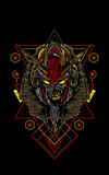 Mecha Anubis sacred geometry
