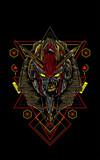 Mecha Anubis sacred geometry