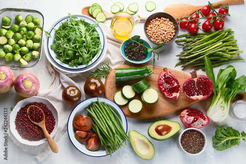 Sticker vegan cooking ingredients