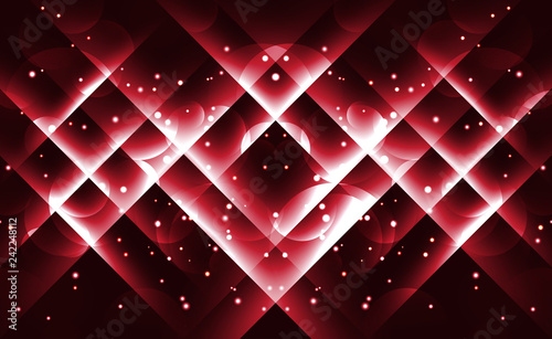 Background image with light red flares.