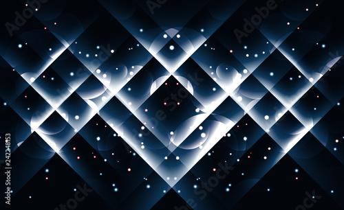 Background image with light blue flares.