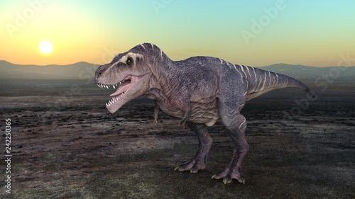 Obraz na płótnie 恐竜