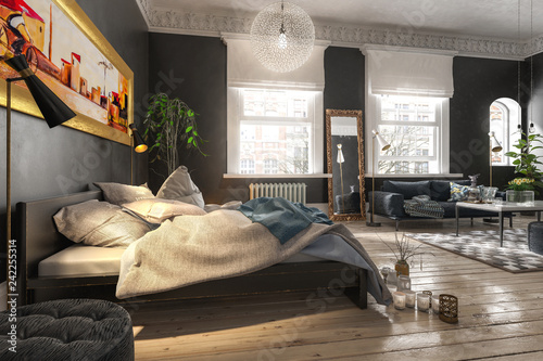 Luxury Bedroom © 4th Life Photography