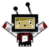 Adorably Cute Little Cartoon Block Ladybird Character