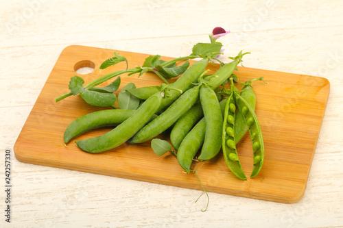 Foto Murales Ripe green peas
