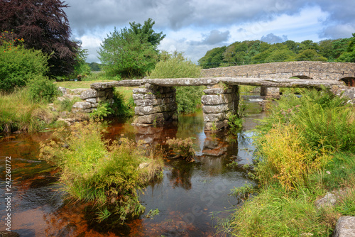 Two Bridges in Dartmoor, Devon, UK