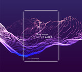 3d futuristic technology style. Abstract background. Vector illustration. - 242262586