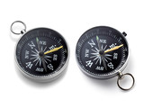 Compass on the white background - 242263559