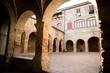 Quadro Inside view Chiostro Suvereto