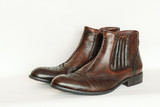 Mens leather boots - 242270794