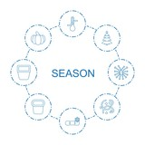 season icons - 242289931