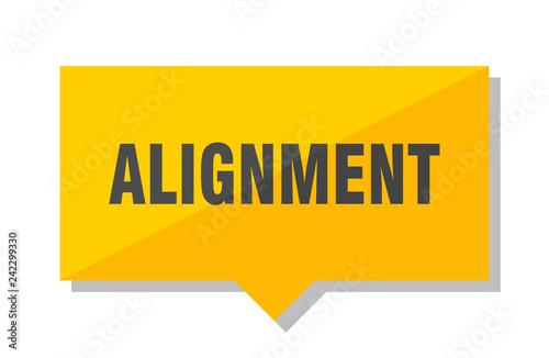 alignment price tag