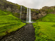 Beautiful Iceland landscape with waterfall. - 242300780