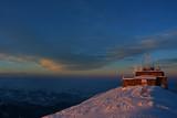 Kasprowy Wierch o zachodzie słońca