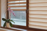 Window roller, duo system day and night