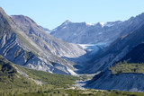 View Over Wooded Valley Between Mountains In Alaska
