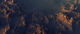 Rough rocky landscape. Aerial view. - 242308184