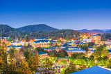 Boone, North Carolina, USA campus and town skyline © SeanPavonePhoto