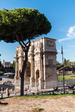 Arch of Constantine in Rome. Italy, Europe - 242315307