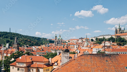 Prague Hradcany from above - 242330163