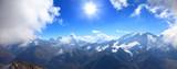 Fototapeta Na ścianę - main caucasus ridge © Dim154