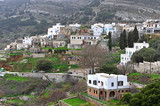 Old traditional village on Naxos island - 242335158