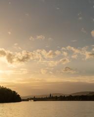 Golden hour in Rheingau, Germany