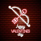 valentine day neon - 242364132