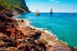Tropical sea landscape in Turkey