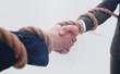 closeup .the handshake business partners.