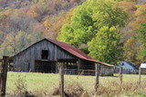 old barn in the countryside - 242378107