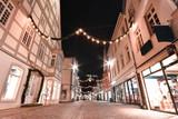 Lemgo, marktplatz,alte Post,Nacht, lichter, langzeitbelichtung,Lippe,OWL,Hansestadt,Bunt,Wehnachten,Weihnachtsbeleuchtung,Lichttechnik