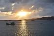 Nam Du Island sunset with boats