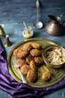 falafel is a mediterrean delicacy - 242406737