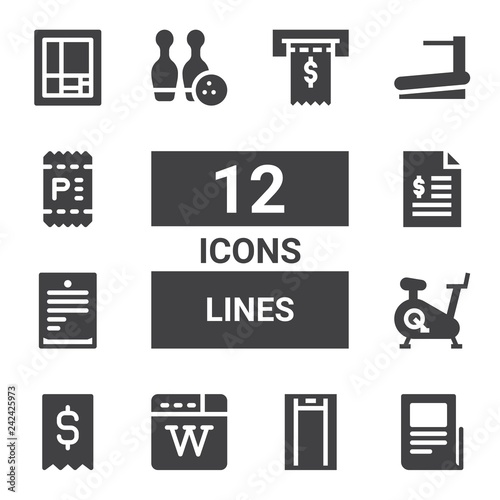 lines icon set © Habib