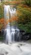 Leinwanddruck Bild - Autumn Yunshen waterfall in New Taipei City Sanxia District, New Taipei City, Taiwan