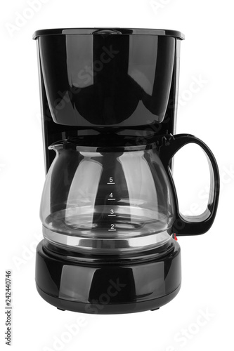 Coffee maker isolated - 242440746