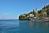 Greece,island Paxos-view on the harbor Loggos - 242449954