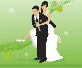 Recien casados © Parato