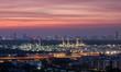 Refinery backdrop City