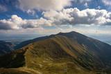 A beautiful view of the Western Tatra Mountains. Slovakia.