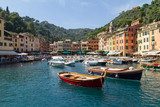 Portofino Harbour from the Sea, Liguria, Italy - 242496716