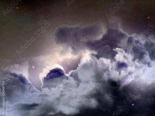 nebula sky background