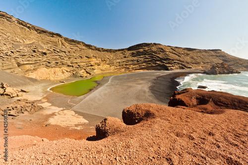 El Golfo, Lanzarote, Spain. - 242508731