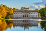 Royal Lazienki Park in Warsaw, Palace on the water, Poland - 242521518