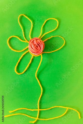 Foto Murales Conceptual flower