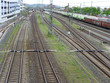Leinwandbild Motiv Bahnhof Bamberg