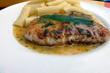 Putenschnitzel Saltimbocca - 242531926