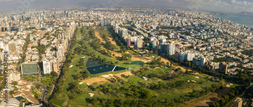 Golf club of San Isidro district, Lima, Peru. - 242541124