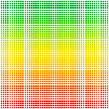 Rasta color flag dotted pixel